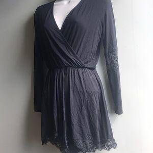 Topshop Soft Lace Jumpsuit